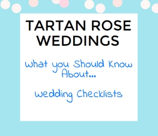 Wedding Checklists