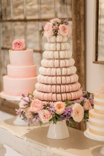 Alternative Wedding Cakes Macarons Tartan Rose Weddings